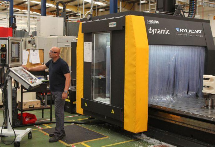 Nylacast Large Capacity machining facilities