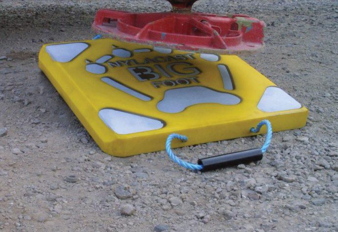 Nylacast Big Foot Outrigger Pad