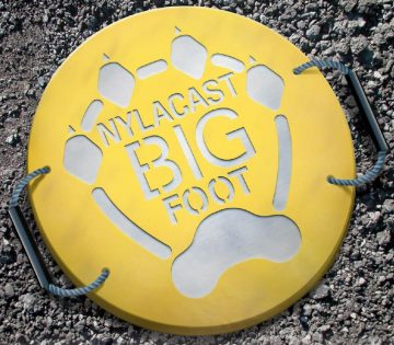 Nylacast Big Foot Outrigger Pad