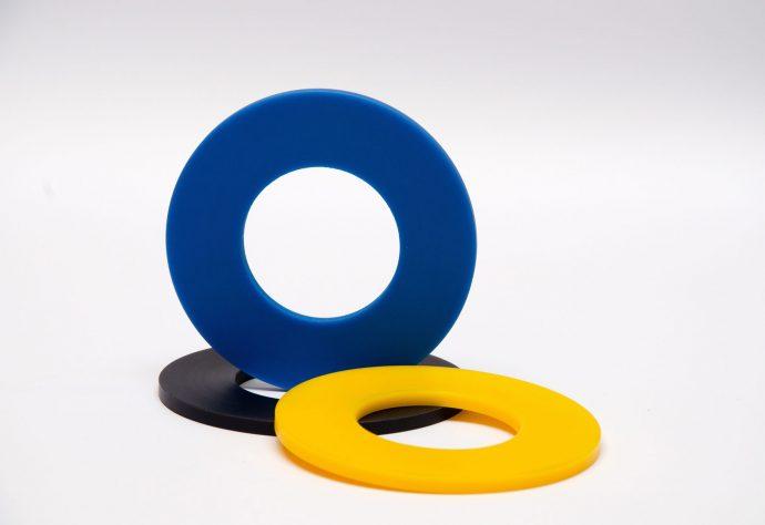 Nylacast polymer washers
