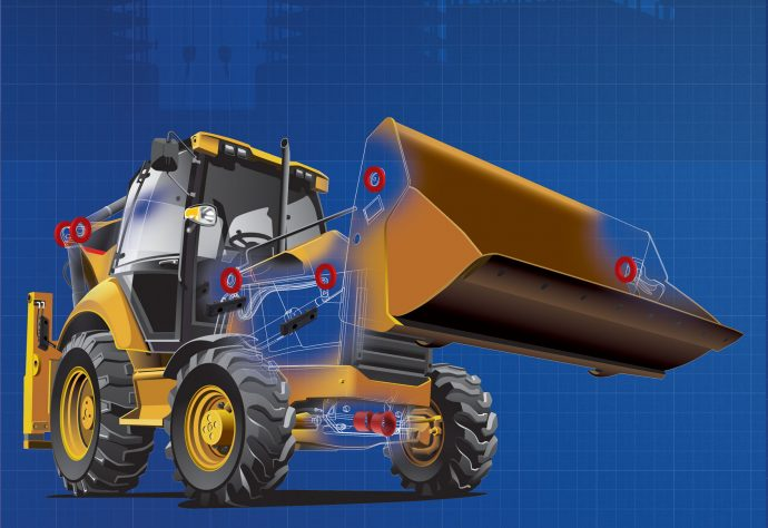 Nylacast wheeled loader applications