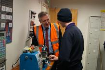 CITY MAYOR VISITS LOCAL BUSINESS TO MEET THE NEXT GENERATION OF ENGINEERS