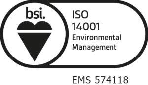 Nylacast ISO 14001 Logo