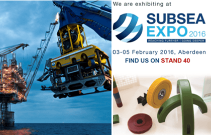 Visit Nylacast on Stand 40 at Subsea Expo 2016