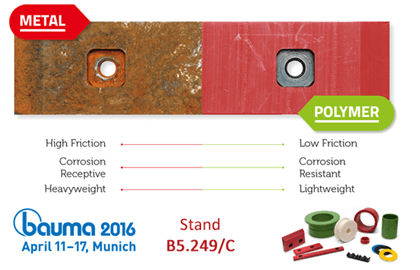 Visit Nylacast on stand B5.249/C at Bauma