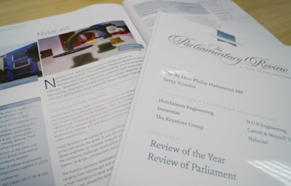 Parliamentary review PR image