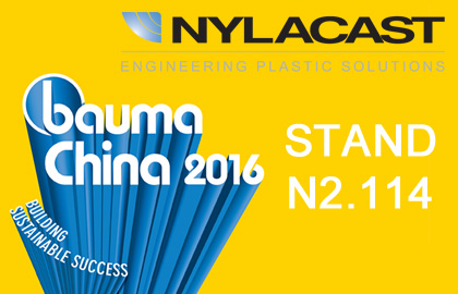 Nylacast at Bauma China