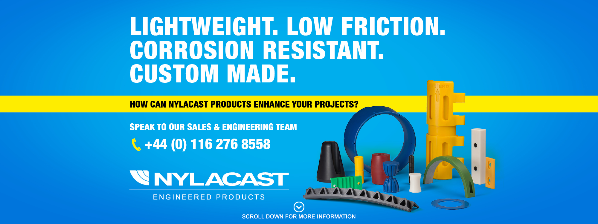 Nylacast projects