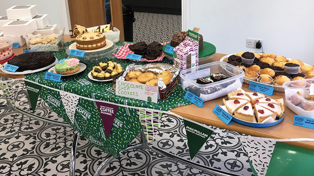 McMillan coffee morning 2018