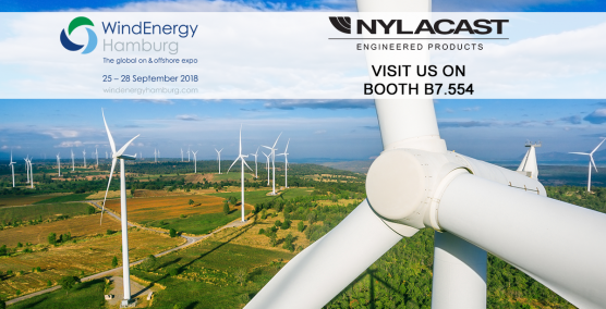 Nylacast at Wind Energy Hamburg 2018