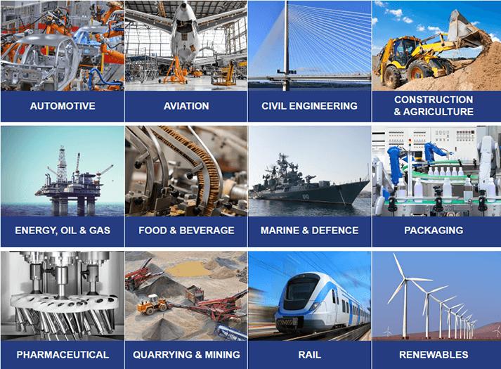 Industrial equipment - Nylacast