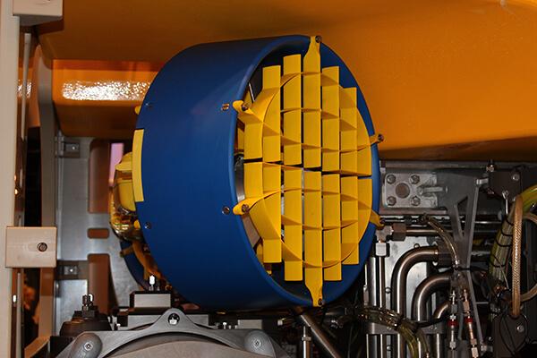 Nylacast thruster nozzles