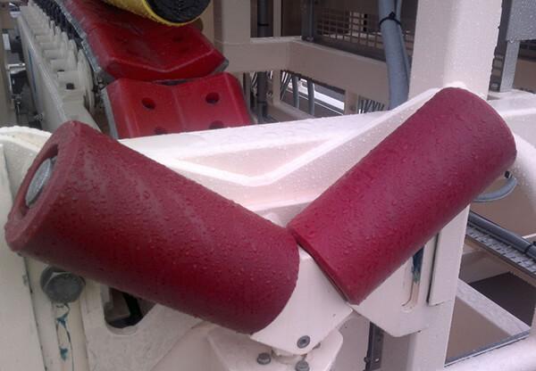 nylacast offshore nylube rollers