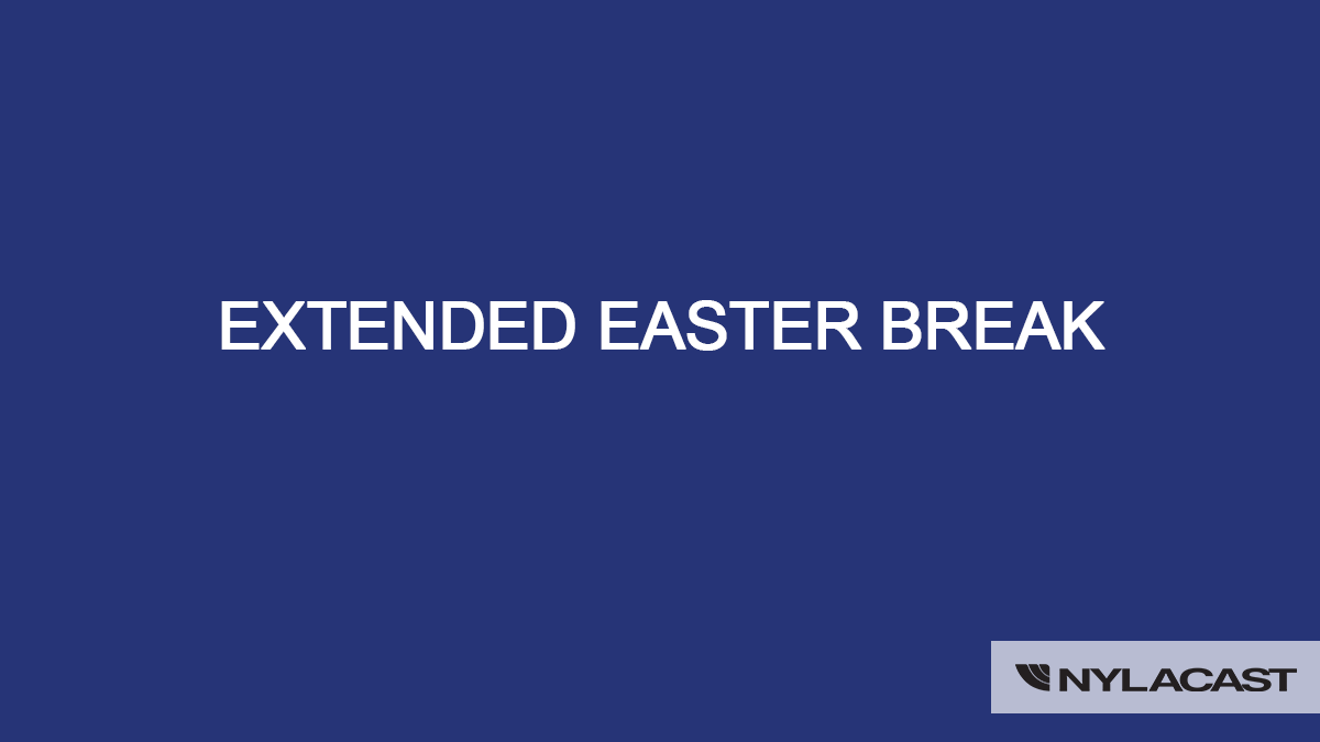 Extended easter break