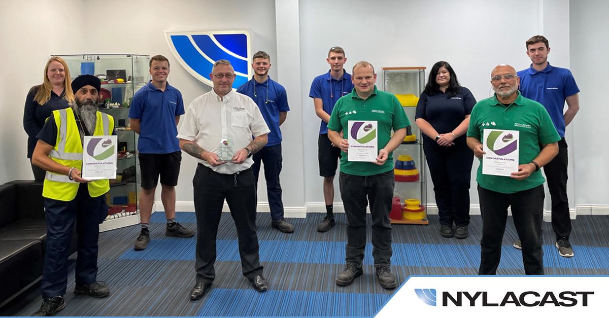 Nylacast wins Leicestershire Cares Award